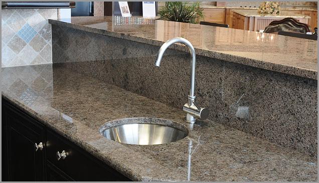 Brown Kitchen, Brown Granite Labrador Antique Granite