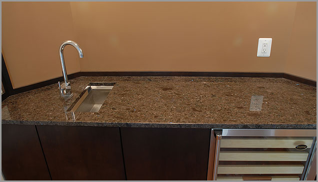Brown Granite Counter Labrador Antique Granite